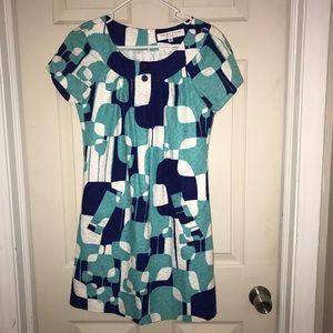 Trina Turk Women's Mod Print Dress Sz 2